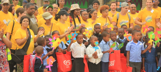 Unilever spends a day with Thanda